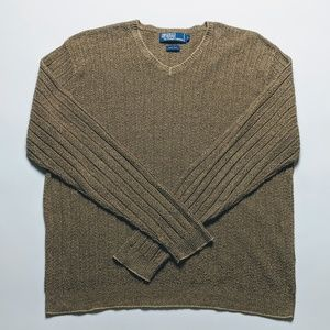 Polo by Ralph Lauren Sweaters - Polo Ralph Lauren 100% Silk Pullover Sweater Large